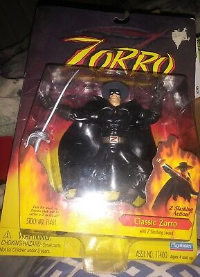 1997 Zorro, Classic Zorro, by Playmates 11401 BRAND NEW IN BOX