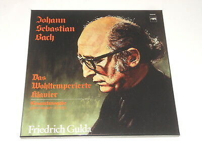Friedrich Gulda - Piano - 5LP Box - BACH - Well Tempered Clavier - MPS 0188.042