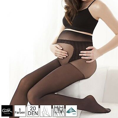 20 Denier Comfortable Sheer Maternity Tights For Pregnancy Gatta Body Protect