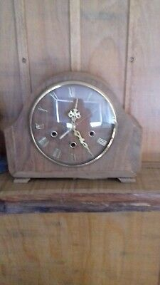 upcycled smiths mantle clock