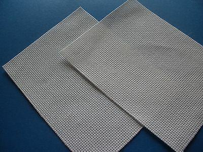 Pack of 2 White 14 Count Aida Cloth Card Sized Pieces - 20 x 25cm