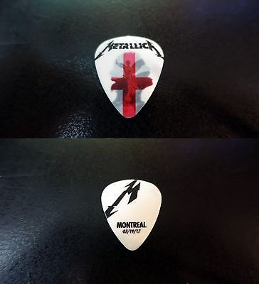 METALLICA Montreal,Qc - Official Guitar Pick - July 19 2017 Worldwired Tour