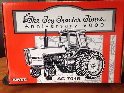 Ertl Allis Chalmers 7045 - Toy Tractor Times Anniversary 2000 1:16 - New