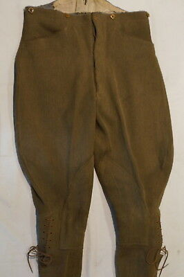 WW1 British Canadian Breeches Trousers Pants Size 33/34
