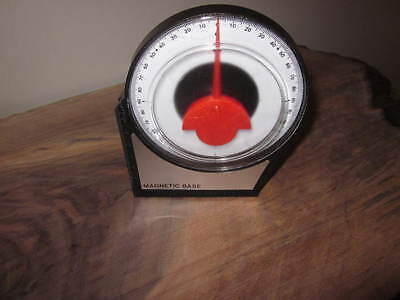 Dial Gauge Angle Finder Inclinometer Meter. Valkyrie NIP