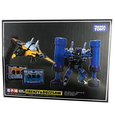 Takara Transformers Masterpiece CP MP-16 Frenzy & Buzzsaw Action Figures KO Toy