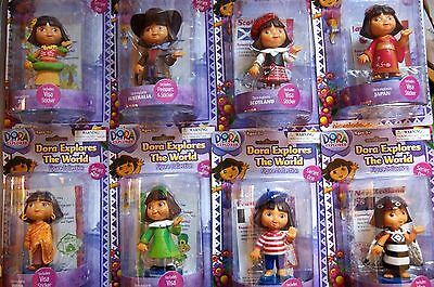 Dora The Explorer Explores The World 5 Inch Figure Brand New! Age 3+ Free Post