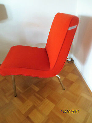 Walter Knoll VOSTRA Sessel 607 Classic Edition Rot-orange