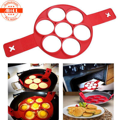 Stampo Per Pancake In Silicone Cucina Antiaderente Flippin Fantastic Omelette