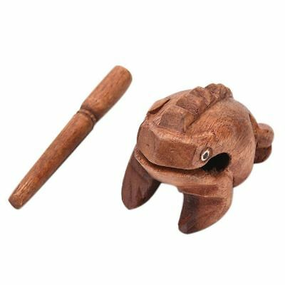 Decorative Traditional 85*50*50mm Wooden Feng Shui Decoration Lucky Frogs