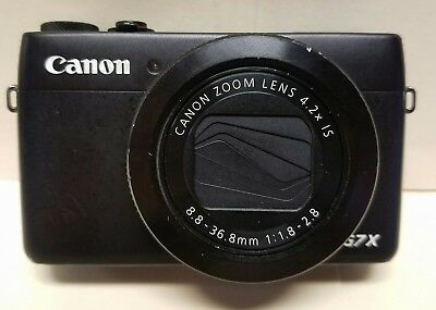 Canon PowerShot G7 X  Black For Parts