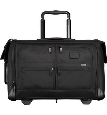 """Tumi  """"Alpha 2"""" Rolling Carry-On Two Wheel Garment Bag"""