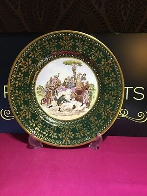 1981 Caverswall Christmas Plate Limited Edition by John Ball