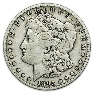 1895-S Morgan Dollar, Large, Key Date, Very Rare Silver Coin [3348.189]