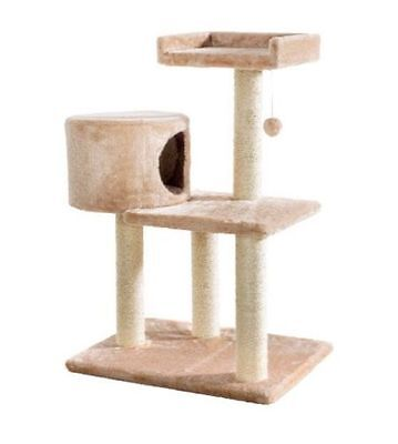 ZOOFARI Large Cat Scratching Post  DIMENSION: 60x80x39cm (WxHxD)