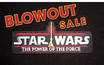 """BLOWOUT SALE!! Kenner Vintage STAR WARS """"The Power of the Force"""" patch GLOBAL"""