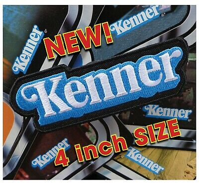"NEW 4 inch size!! Vintage STAR WARS toy collector ""KENNER"" logo patch GLOBAL"