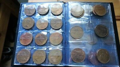 15 x 1d penny 1967, all good condition ex general circulation