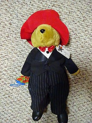 "Commemorative Millenium Paddington Bear 17"" Plush Stuffed Bear toy with tags"