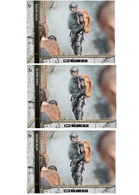 3x COME WHAT MAY CONCRETE WAVE 2 GLENN RHEE The Walking Dead Card Trader Digital