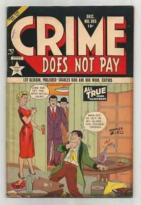Crime Does Not Pay #105, Dec. 1951
