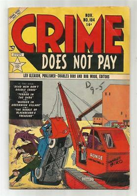 Crime Does Not Pay #104, Nov. 1951