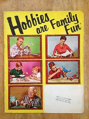 Vintage Hobbies are Family Fun Catalog 1959