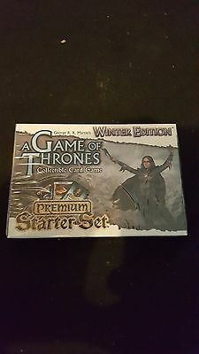 A Game of Thrones Collectible card game Winter Edition