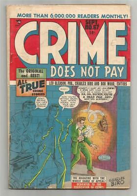 Crime Does Not Pay #67, Sept. 1948
