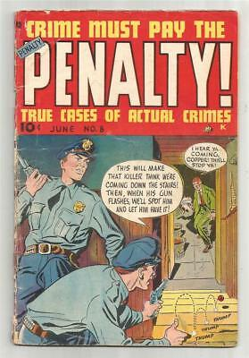 Crime Must Pay The Penalty #8, June 1949