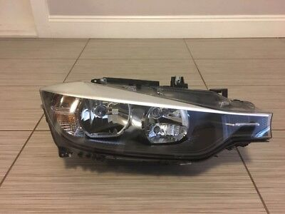 BMW 320i 328d Set or Left & Right 2013,2014,2015Halogen Headlight Assemblies