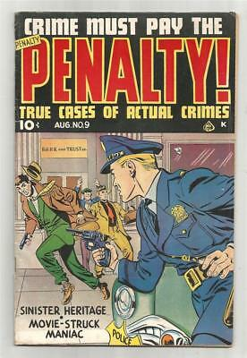 Crime Must Pay The Penalty #9, Aug. 1949