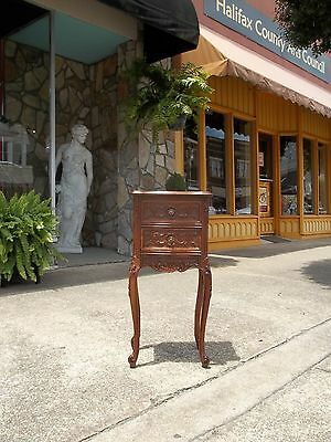 Fantastic Italian Walnut Two Drawer Stand Early 20th century