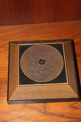 Vintage Advertising Store Display Turntable Hankscraft Div. of Gerber Products