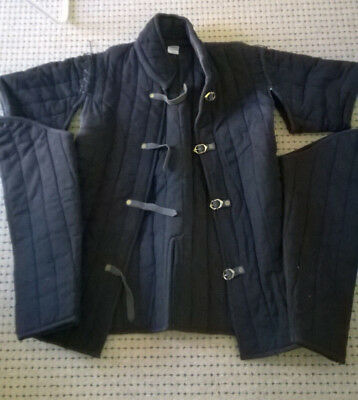 WMA HEMA Fencing Gambeson w/ Optional Sleeves For Sword or Combat Size-XL 56/58