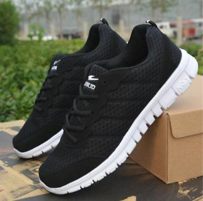 HOT Men's Sneakers Sport Breathable Casual Running Large size Shoes US AU UK