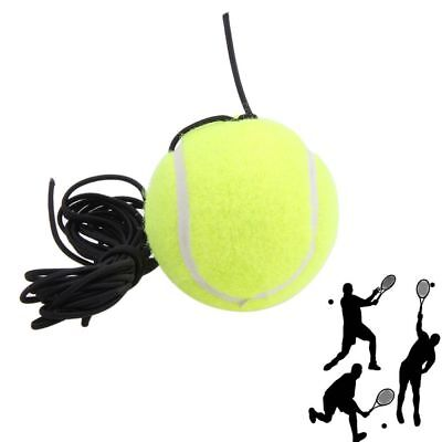 Elastic Rope Tennis Balls Traine Belt with A Rubber Band Training Practice Ball