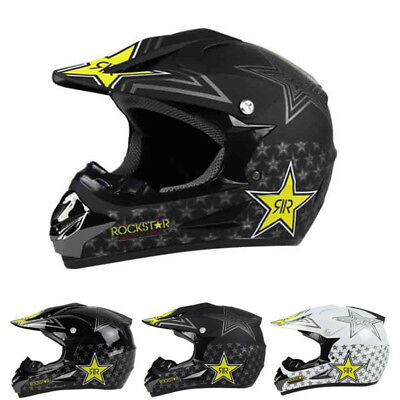 Motorcycle Motocross Dirt Bike ATV Adult Helmets Off Road Racing Full Face DOT