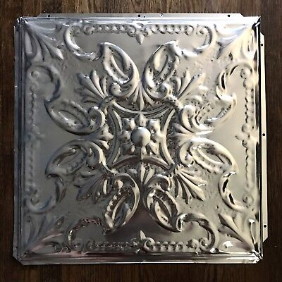 "Vintage Versaille Pattern Tin ceiling Tiles 24"" X 24"" Square Panel"