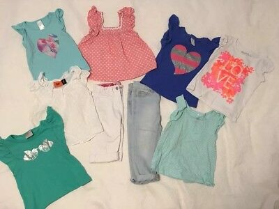 Size 3 Sweet Girls Pretty Summer Clothes