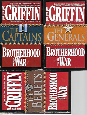 9 by W.E.B. GRIFFIN,BROTHERHOOD OF WAR COMPLETE IN PB,AVIATORS,CAPTAINS,MAJORS,C