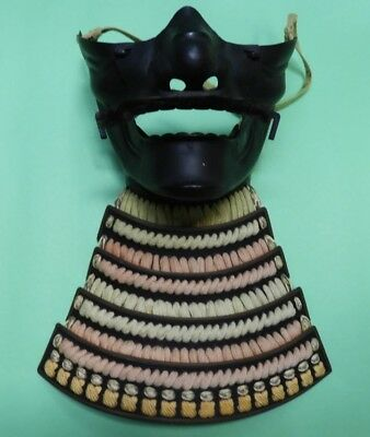 "The ""MENPO"" Personal ARMOR, Japanese Traditional ARMOR Used By SAMURAI, Edo Era"