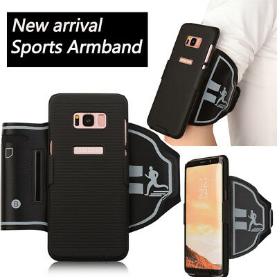 Sport Running Arm Band Workout Gym Phone Case For Samsung Galaxy S8 / S8 Plus