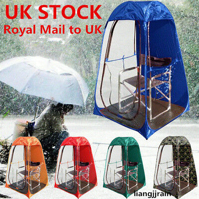 UK STOCK! Sports Pop-up Tent Pod Under The Wather Watching Viewing Sport Pop Up