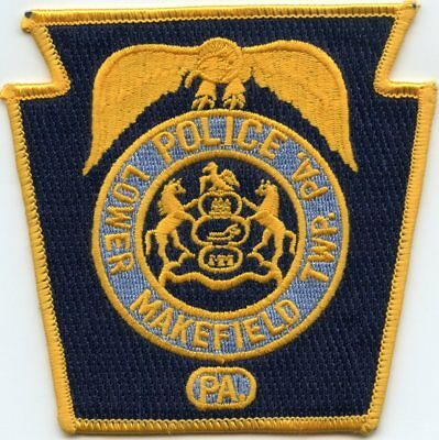 Lower Makefield Township Pennsylvania Pa Police Patch