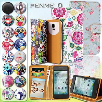 For Various Cubot Phones - Leather Wallet Card Stand Magnetic Flip Case Cover