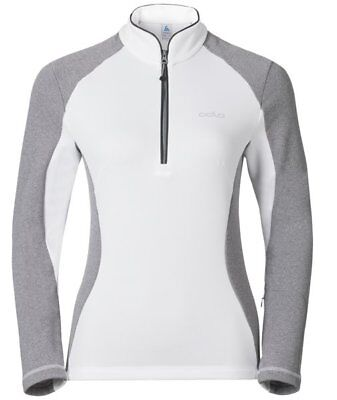 Odlo Pact Midlayer 1/2 zip - maglia in pile - donna