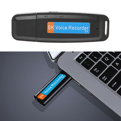 Mini USB Digital Spy Audio Voice Recorder Pen Dictaphone Flash 8GB Drive U-Disk