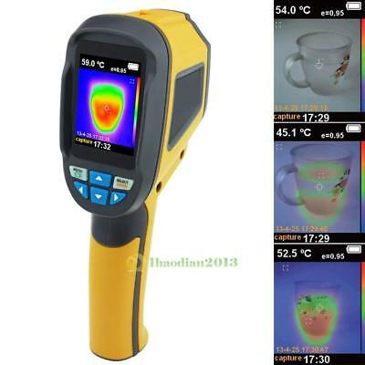 Protable Handheld Thermal Imaging Camera Infrared Thermometer Imager -20℃~300℃