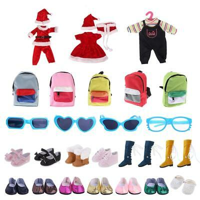 Doll Clothing & Accessories for 18inch American Girl Journey Dolls Complete Look